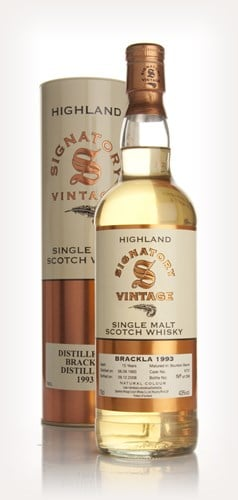 Brackla 15 Year Old 1993 (Signatory)
