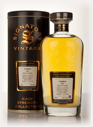 Cambus 20 Year Old 1991 Cask 55885 - Cask Strength Collection (Signatory)