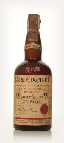 King Edward I Old Blended Whisky - 1950s