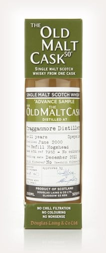 Cragganmore 11 Year Old 2000 - Old Malt Cask  (Douglas Laing)