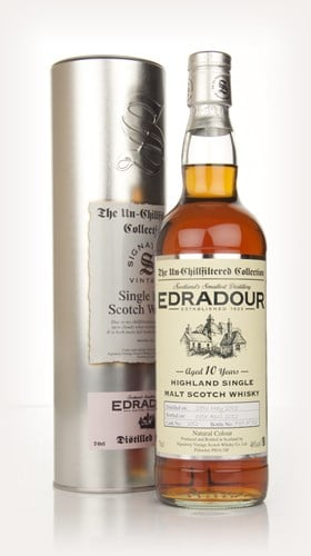 Edradour 10 Year Old 2001 - Un-Chillfiltered (Signatory)