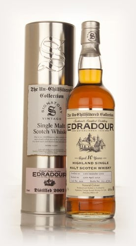 Edradour 10 Year Old 2002 (cask 463) - Un-Chillfiltered (Signatory)