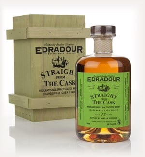Edradour 12 Year Old 2000 Chardonnay Cask Finish - Straight from the Cask 56.3%