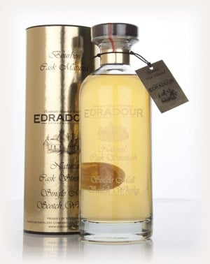 Edradour 2003 (4th Release) Bourbon Cask Matured Natural Cask Strength - Ibisco Decanter