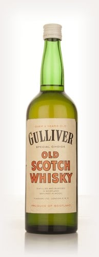 Gulliver Special Choice Old Scotch Whisky - 1960s