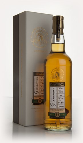 Glenrothes 24 Year Old 1987 - Dimensions (Duncan Taylor)