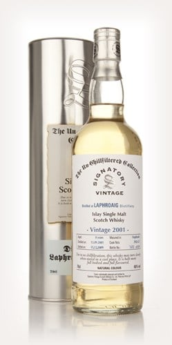 Laphroaig 8 Year Old 2001 - Un-Chillfiltered (Signatory)