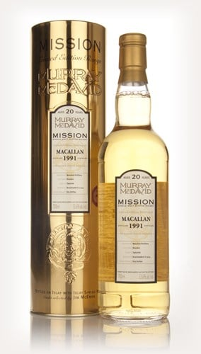 Macallan 20 Year Old 1991 - Mission (Murray McDavid)