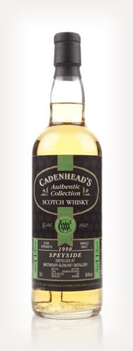 Miltonduff-Glenlivet 11 Year Old 1990 - Authentic Collection (WM Cadenhead) - 2001