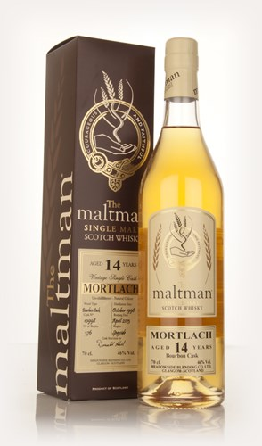 Mortlach 14 Year Old 1998 (cask 10998) (The Maltman)