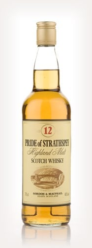 Pride Of Strathspey 12 Year Old