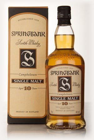 Springbank 10 Year Old (Old Edition)