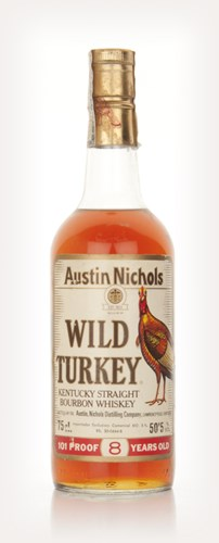 Wild Turkey 8 Year Old 101 Proof - 1980s