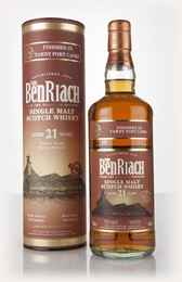 BenRiach 21 Year Old Tawny Port Cask Finish 3cl Sample