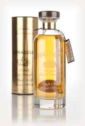 Edradour 12 Year Old 2003 (9th Release) Bourbon Cask Matured Natural Cask Strength - Ibisco Decanter