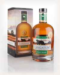 Langatun Old Bear Smoky Cask Proof 3cl Sample