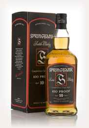 Springbank 10 Year Old 100 Proof