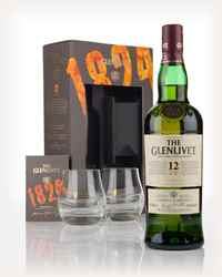 The Glenlivet 12 Year Old Gift Pack with 2x Glasses