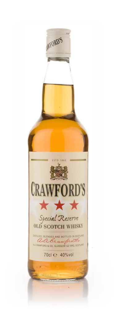 Crawford's 3 Star Blended Scotch Whisky