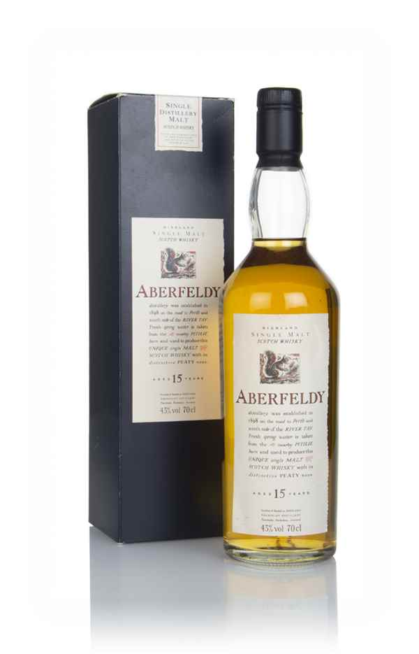 Aberfeldy 15 Year Old - Flora and Fauna - 1990s