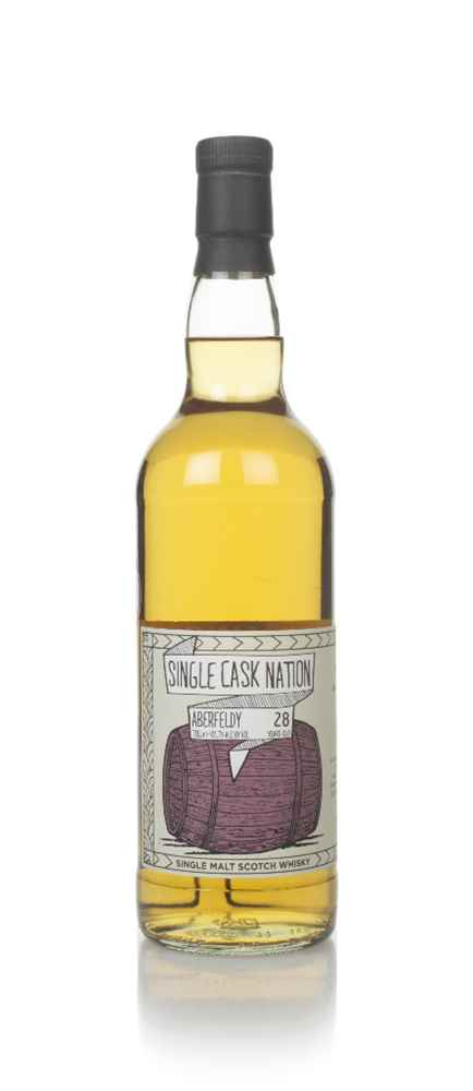 Aberfeldy 28 Year Old 1991 (cask 7435) - Single Cask Nation