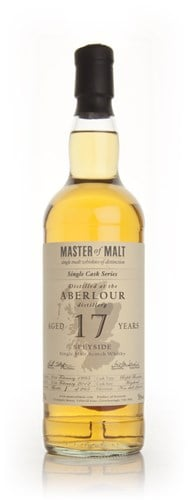 Aberlour 17 Year Old - Single Cask (Master of Malt)