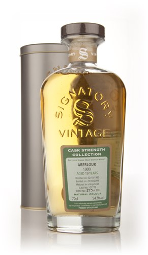 Aberlour 19 Year Old 1990 - Cask Strength Collection (Signatory)