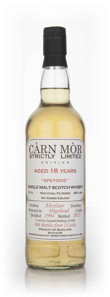 Aberlour 18 Year Old 1994 - Strictly Limited (Càrn Mòr)