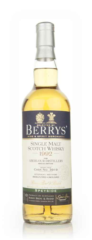 Aberlour 19 Year Old 1992 (Berry Bros. & Rudd)