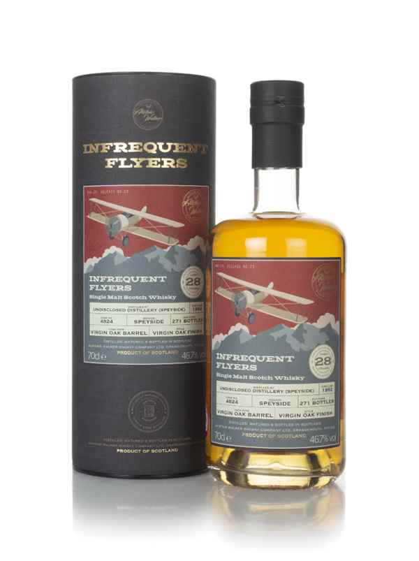 Undisclosed Speyside 28 Year Old 1992 (cask 4824) - Infrequent Flyers (Alistair Walker)