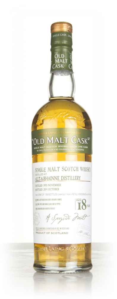 Allt-á-Bhainne 18 Year Old 1995 (cask 10198) - Old Malt Cask (Hunter Laing)