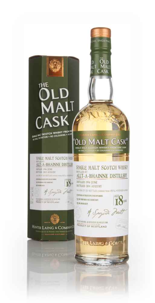 Allt-à-Bhainne 18 Year Old 1996 (cask 10825) - Old Malt Cask (Hunter Laing)