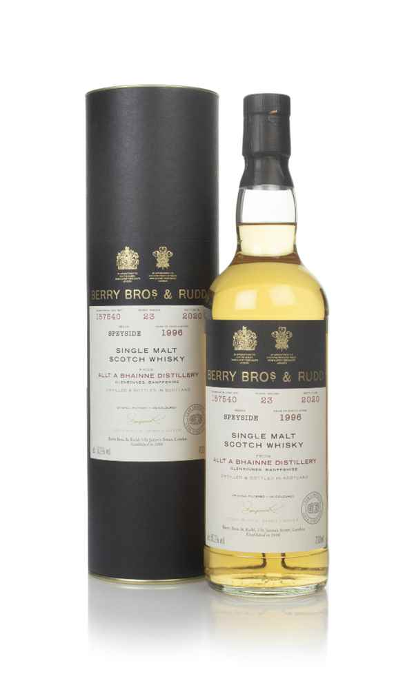 Allt-á-Bhainne 23 Year Old 1996 (cask 187540) - Berry Bros. & Rudd