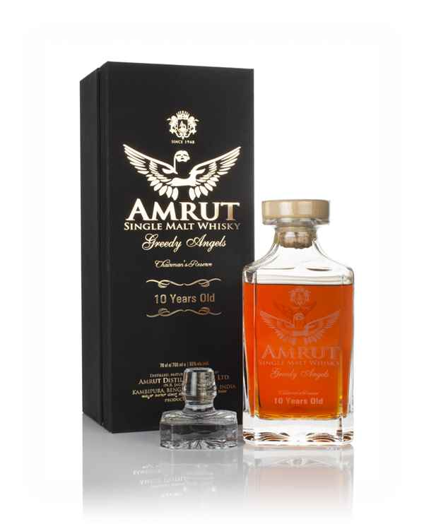 Amrut 10 Year Old Greedy Angels (2019 Release)
