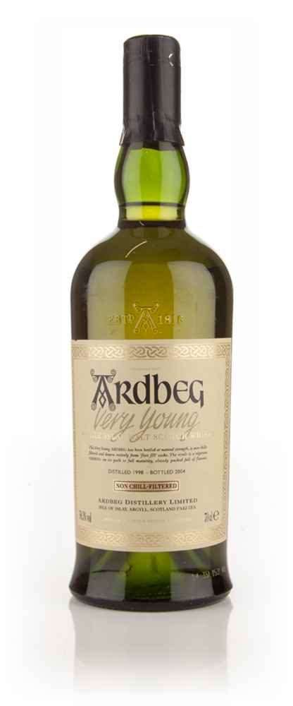 Ardbeg 1998 (bottled 2004) Very Young