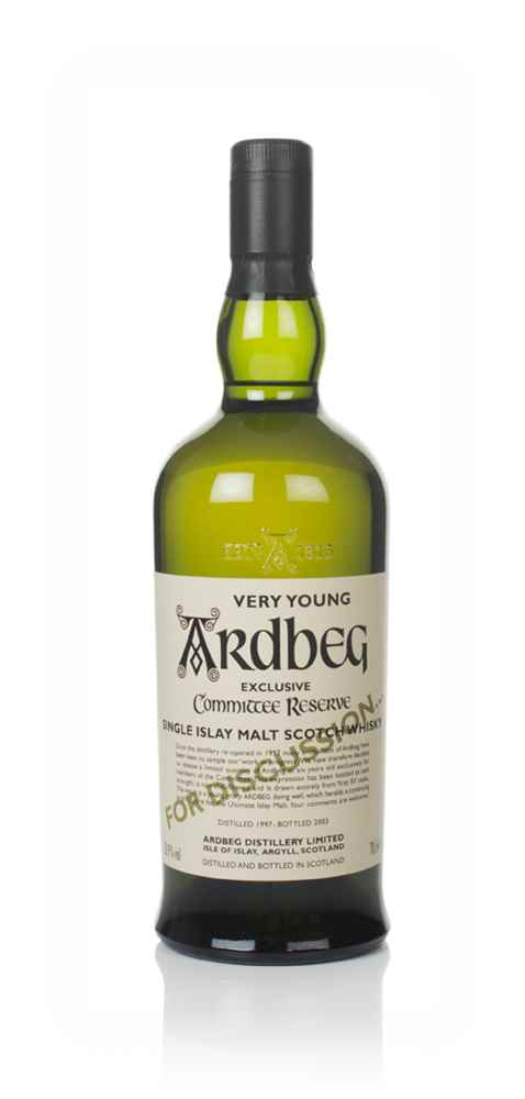 Ardbeg 1997 (bottled 2003) Very Young For Discussion