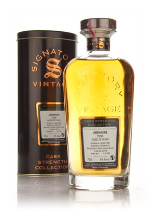 Ardmore 20 Year Old 1990 - Cask Strength Collection (Signatory)