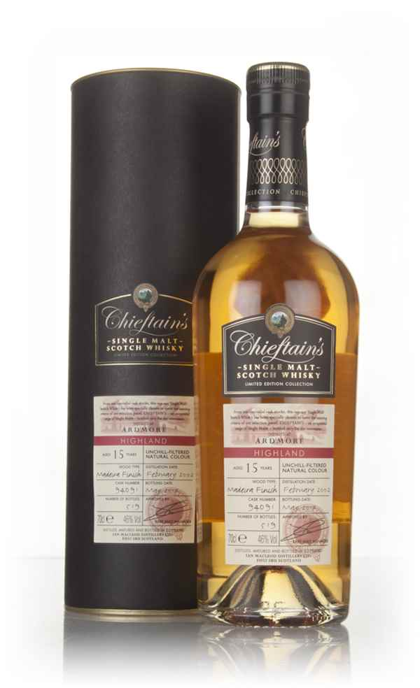 Ardmore 15 Year Old 2002 (cask 94091) - Chieftain's (Ian Macleod)