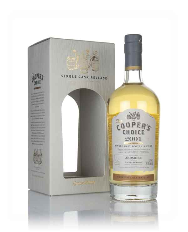 Ardmore 16 Year Old 2001 (cask 1581) - The Cooper's Choice (The Vintage Malt Whisky Co.)