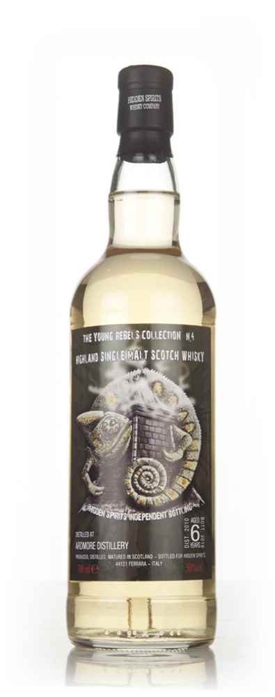 Ardmore 6 Year Old 2010 - Young Rebels Collection No.4 (Hidden Spirits)