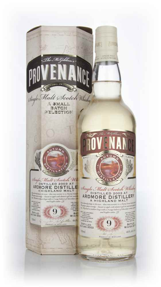Ardmore 9 Year Old 2003 (cask 9341) - Provenance (Douglas Laing)