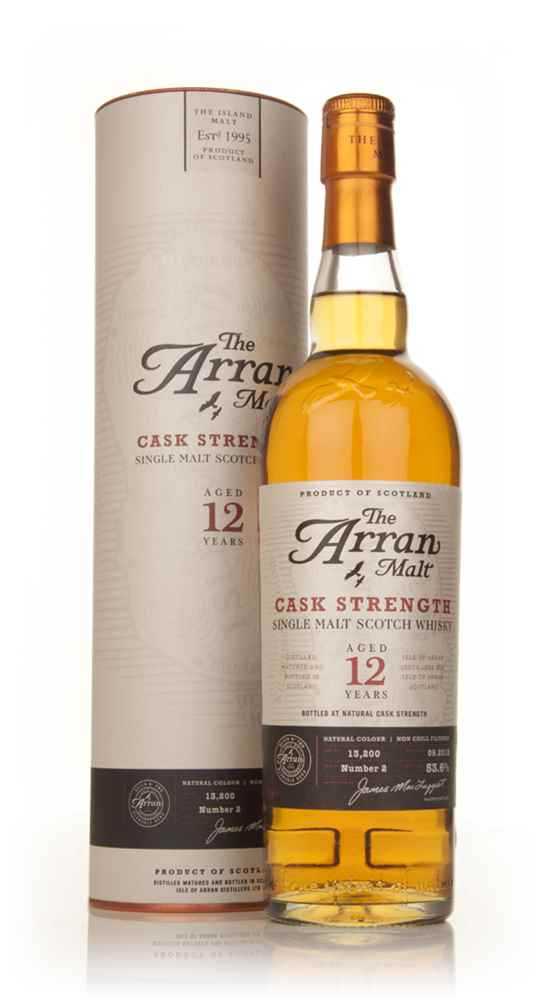 Arran 12 Year Old Cask Strength Batch 2