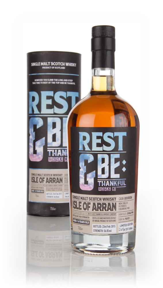 Arran 16 Year Old 1998 (cask 98820) (Rest & Be Thankful)