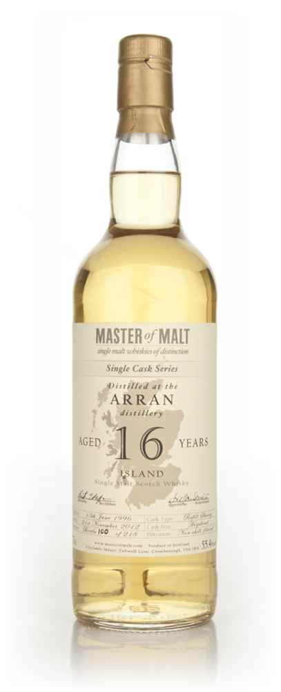 Arran 16 Year Old - Single Cask (Master of Malt) 55.4%