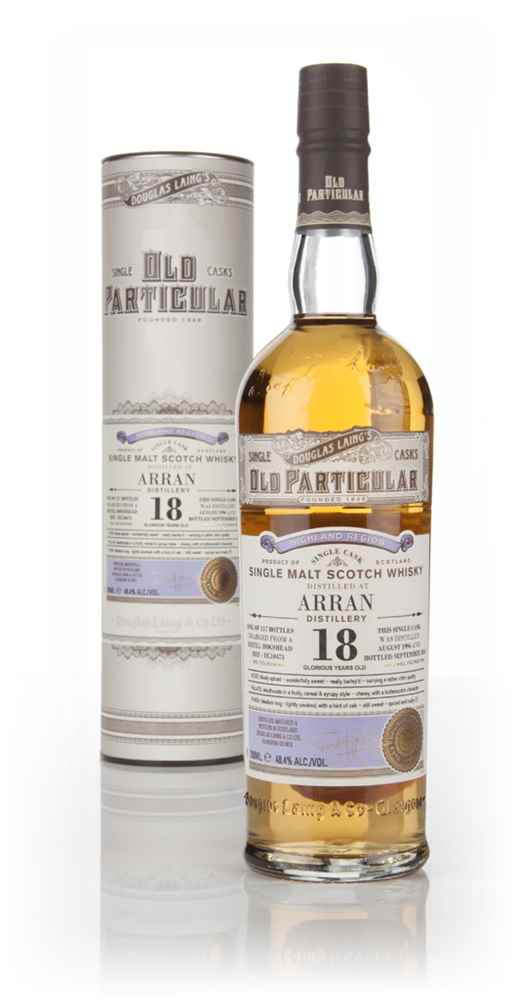 Arran 18 Year Old 1996 (cask 10473) - Old Particular (Douglas Laing)