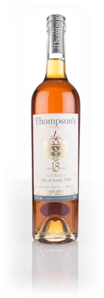 Arran 18 Year Old 1996 (cask 1835) - Thompson's