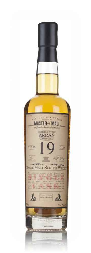 Arran 19 Year Old 1996 - Single Cask (Master of Malt)