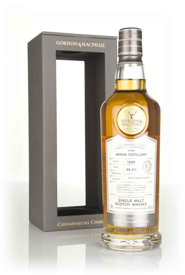 Arran 22 Year Old 1996 - Connoisseurs Choice (Gordon & MacPhail)