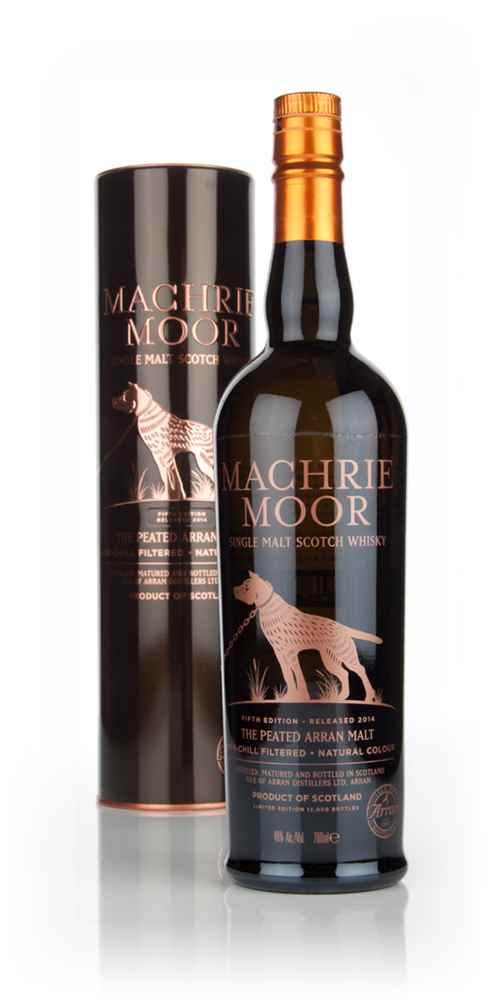 Arran Machrie Moor Peated - Batch 5