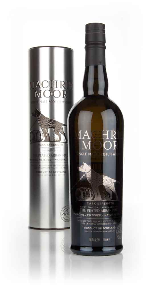 Arran Machrie Moor Peated Cask Strength - First Edition